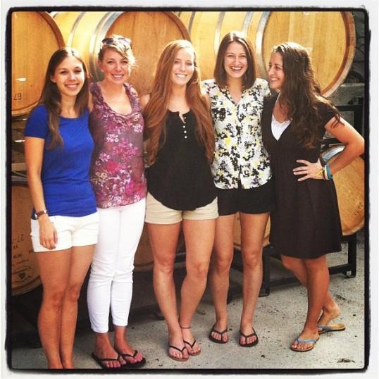 Vineyards in Virginia!
