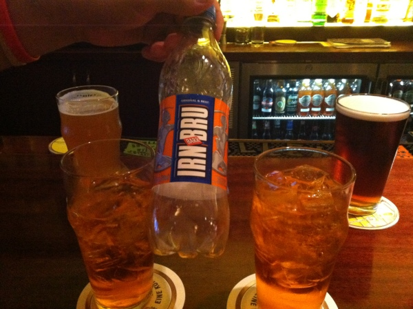 "Irn Bru: Scotland's ""other"" national drink"