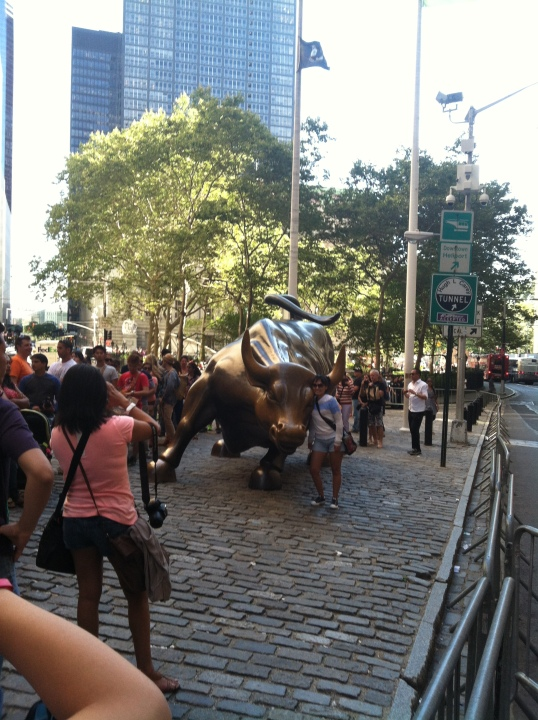 Yep, we actually went on a search for the bull...
