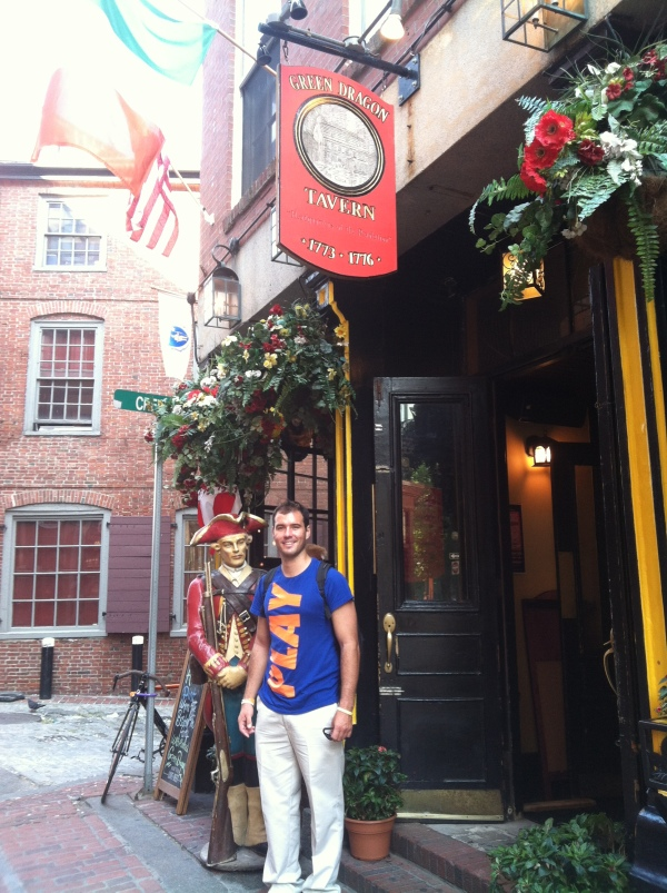 Paul Revere's favorite haunt + the highlight of a video game = a must-see for us both