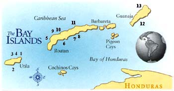 The only map I could find with Pigeon Cay even mentioned...it's that small!