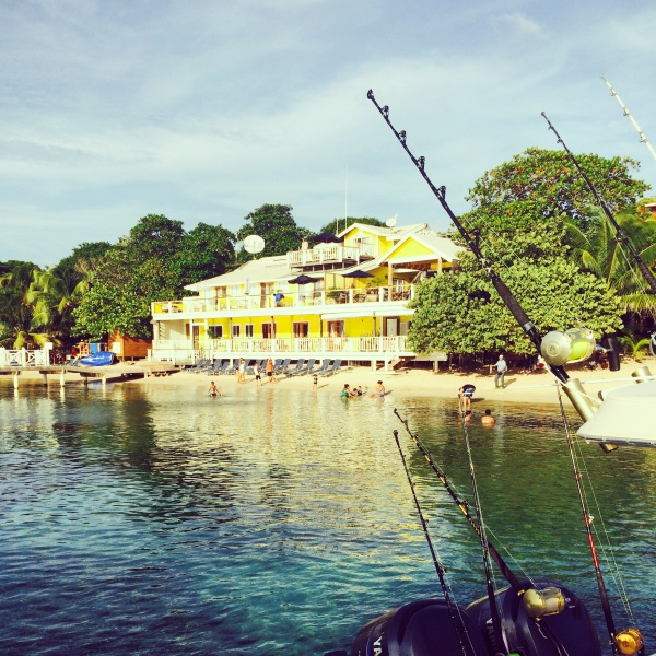 The Beach House, located on Half Moon Bay in West End, Roatan. Photo courtesy of The Beach House.