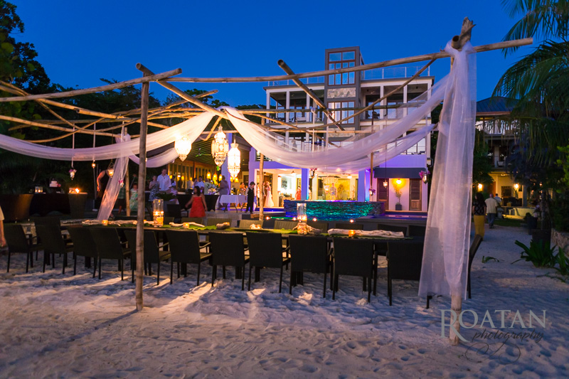 Xbalanque is a modern, boutique luxury resort in West Bay, Roatan. Photo courtesy of Xbalanque.