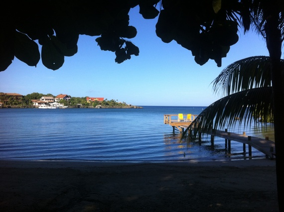 Roatan-Honduras-beach-view-Amanda-Walkins